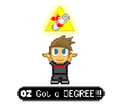 Pixel Art - Oz got a Degree