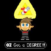 Pixel Art - Oz got a Degree