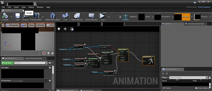 Production diary of censored due to nda week 4 smacking ones an animation blueprint this sequence of nodes tells the character to do something apparently malvernweather Images