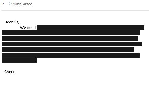 emails - censored